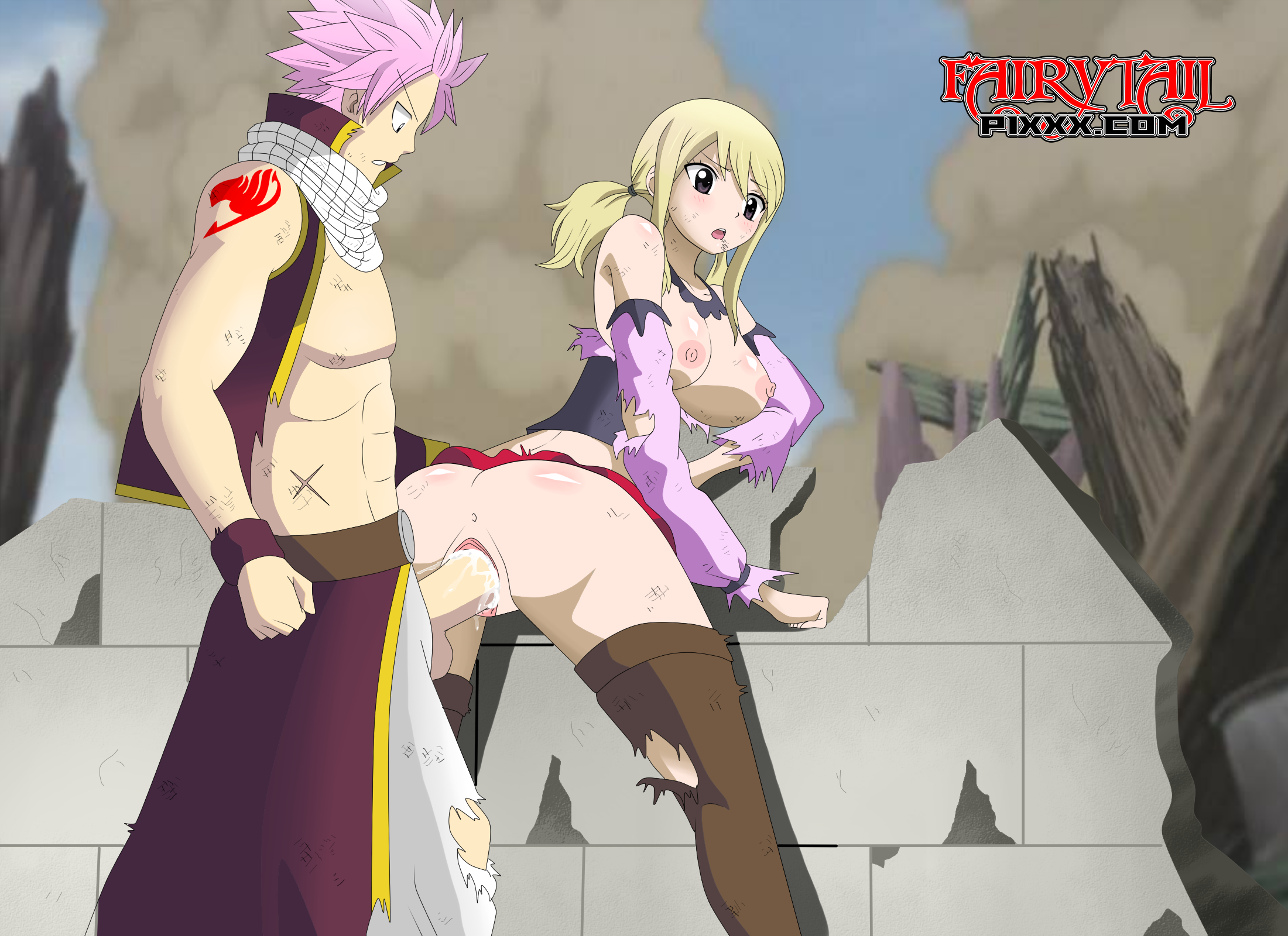 fairy tail rule 34